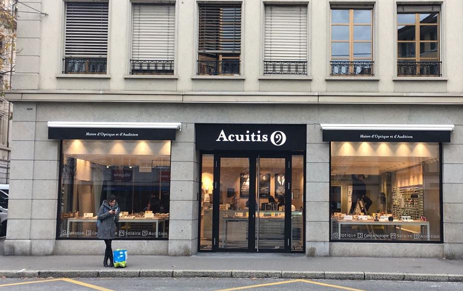 """Devanture """"Acuitis"""""""